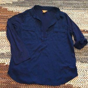 Joe Fresh Navy Blue Top sz XL